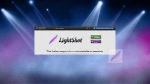 screenshot on gateway laptop with lightshot